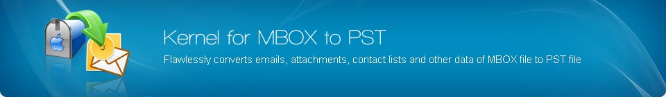 MBOX to PST Banner